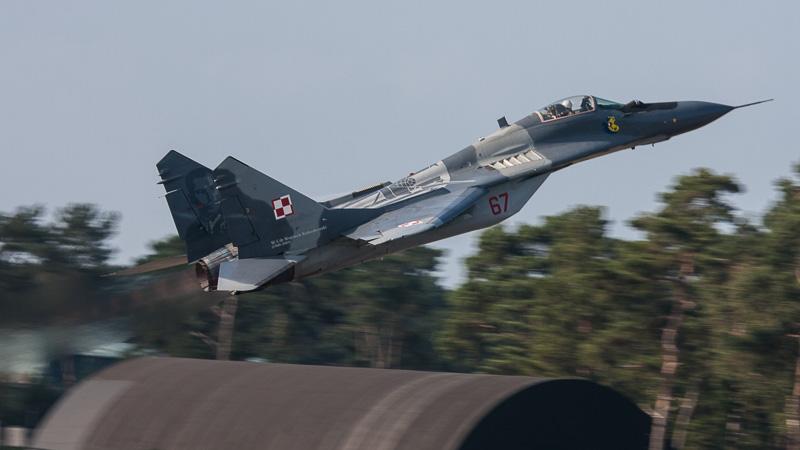 MiG-29 Polish AF Kleine Brogel 2014