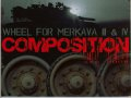 Wheel for Merkava III/IV composition
