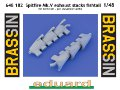 Spitfire Mk.V exhaust stacks fishtail
