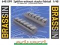 Spitfire exhaust stacks fishtail