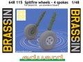 Spitfire wheels - 4 spoke